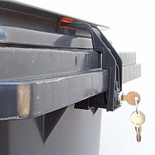 CTS Wheelie Bin Lock 60 to 240 litres with Handle