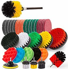 Cuasting 37Pcs Drill Brush Attachments Set Power