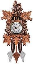 Cuasting Vintage Home Decorative Bird Wall Clock