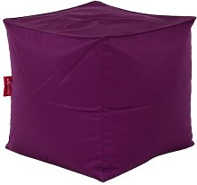Cube Bean Bag Chair Freeport Park Upholstery: