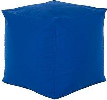 Cube Bean Bag Chair Freeport Park Upholstery: Blue