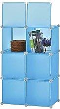 Cube DIY Wardrobe Portable Plastic Modular Closet