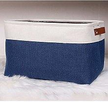 Cube Large Folding Linen Storage Basket Clothes