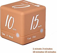 Cube Timer, Time Alarm Cube Digital Minutes Clock
