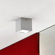 Cubic ceiling light Dau Spot, aluminium