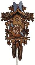 Cuckoo Clock 13 Leaves, 3 butterflies