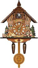 Cuckoo Clock, 18 inch Traditional Black Forest
