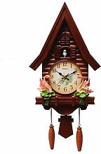 Cuckoo Clock Antique Wooden Cuckoo Wall Clock Bird