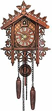 Cuckoo Clock,Antique Wooden Cuckoo Wall Clock Bird
