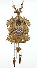 Cuckoo Clock, Black Forest Clock Silent Wall Clock