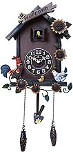 Cuckoo Clock Black Forest Quartz Wall Clock