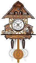 Cuckoo Clock Black Forest Quartz Wall Pendulum