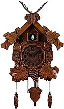 Cuckoo Clock Black Forest Wood Clock Wall Decor