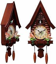 Cuckoo Clock, Fashion Living Room Wall Clock Alarm