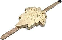 Cuckoo Clock Maple Leaf Pendulum Unfinished Wood