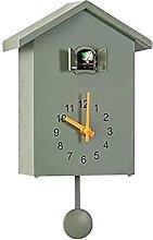 Cuckoo Clock, Minimalist Modern Design Wall Clock,