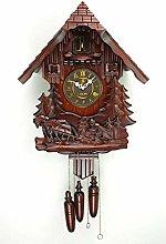 Cuckoo Clock Pendulum Quartz Wall Black Forest