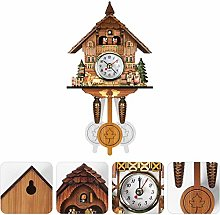 Cuckoo Clock, Quartz Cuckoo Clock, Antique Wooden