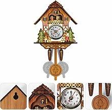Cuckoo Clock, Quartz Cuckoo Clock, Antique Wooden