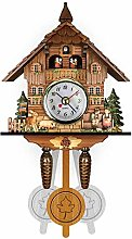 Cuckoo Clock Quartz Cuckoo Clock for Wall, Antique