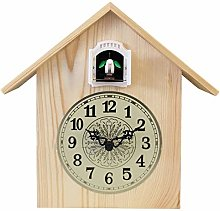 Cuckoo Clock, Quartz Wooden Wall Clock, Modern