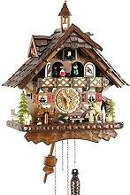 Cuckoo Clock Real Wood Battery Operated Quartz