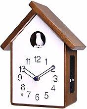 Cuckoo Clock Solid Wood Cuckoo Bird Wall Clock