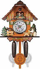 Cuckoo Clock Traditional Black Forest Bird House