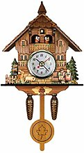 Cuckoo Clock Traditional Black Forest Chalet Clock