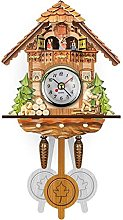 Cuckoo Clock Traditional Black Forest House Clock