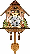 Cuckoo Clock, Traditional Black Forest House Clock
