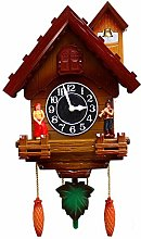 Cuckoo Clock, Wall Clock Retro Vintage Cuckoo