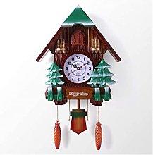 Cuckoo Clock Wall Clock with Music Pendulum