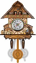Cuckoo Cuckoo Wall Clock Chime Alarm Clock Retro
