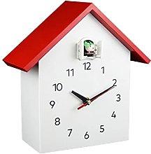 Cuckoo Quartz Wall Clock Modern Bird Hanging Watch