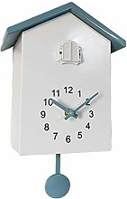 Cuckoo Wall Clock, ABS Plastic Modern Bird House
