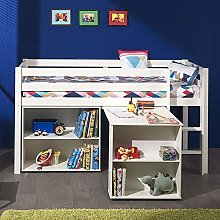 Cuckooland.com Pino Kids Cabin Bed with Desk and