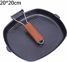 cuckoouk Pre-Seasoned Cast Iron Skillet/Frying Pan