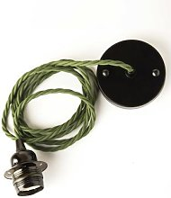 Cuemars - Army Green Ceiling Pendant Set - Green