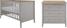 Cuggl Canterbury 2 Piece Nursey Furniture Set -