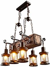 CUICAN 6-Lights Dining Room Metal Design