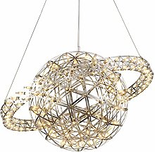 CUICAN Stainless Steel Sparks Ball Chandelier,LED