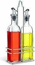 Cuisinox Oil and Vinegar Cruet Set with Caddy,