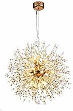CUITONG Chandeliers Firework Dandelion Ceiling