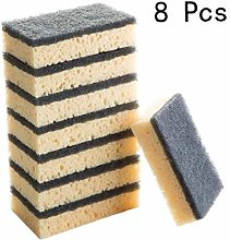 CULER 8PCS Kitchen Cleaning Sponges Dishing