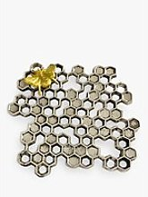 Culinary Concepts Buzzy Bee Honeycomb Trivet