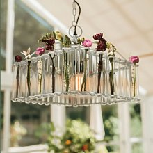Culinary Concepts - Pasteur Test Tube Chandelier