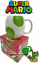Cup of Tees Super Mario Yoshi Egg Novelty Mug