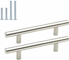 Cupboard Handles 96mm – Goldenwarm 10pcs Silver