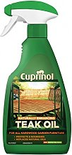 Cuprinol Natural Enhancing Teak Oil Spray Clear